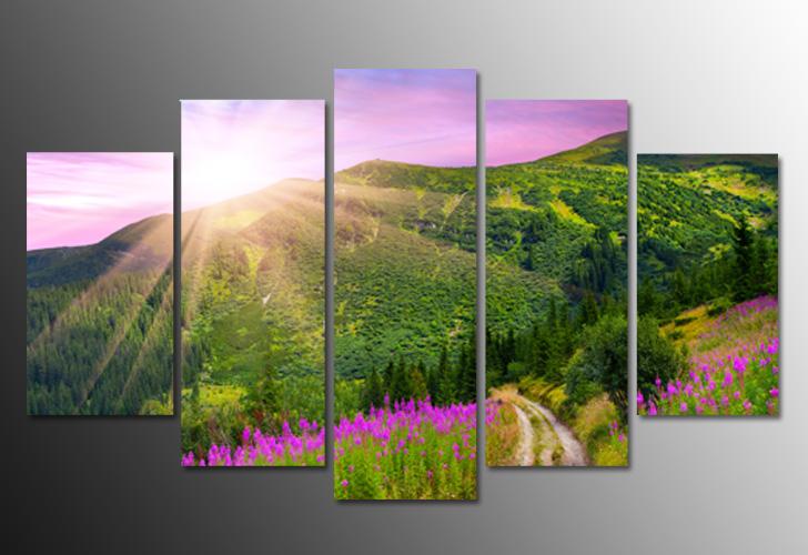 Tranh treo tranh có hình cây cối