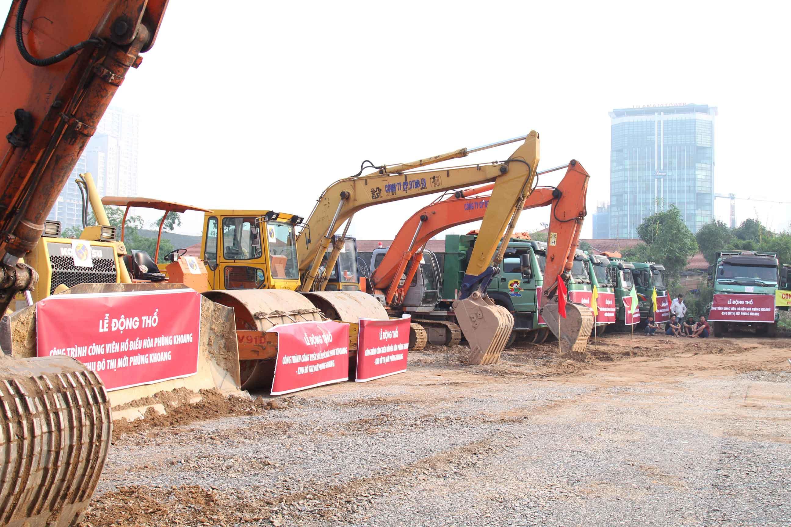 Lễ khởi công công viên Phùng Khoang - An Bình City