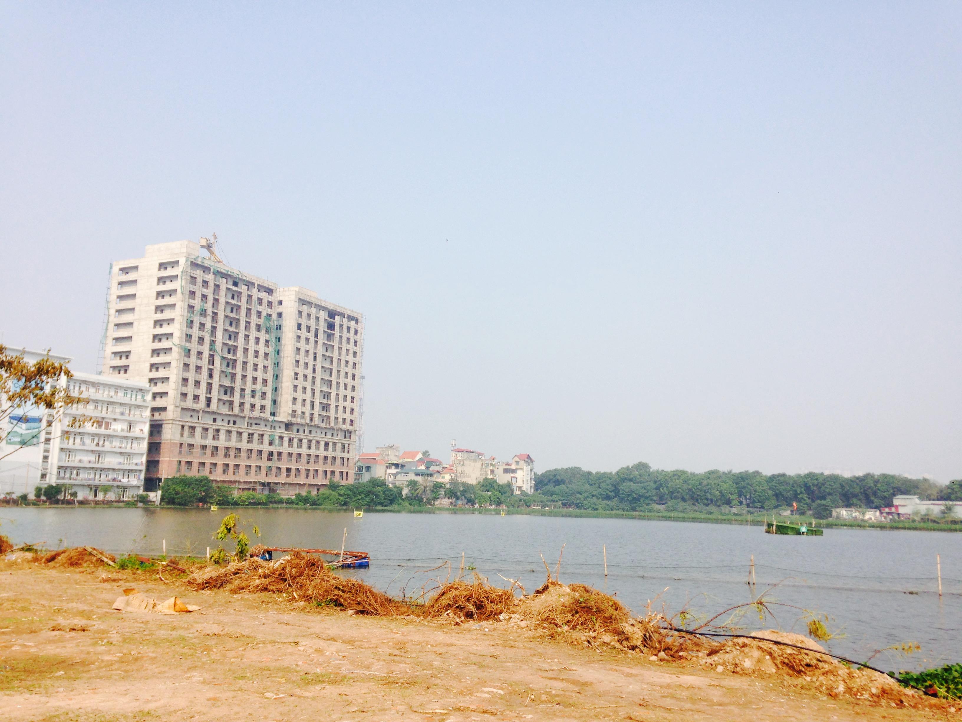 Hồ điều hòa Phùng Khoang - An Bình City