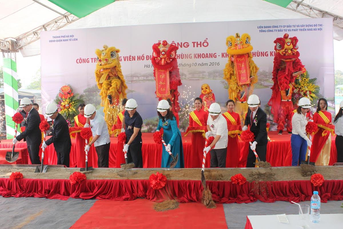 Lễ động thổ công viên phùng khoang - An Bình City