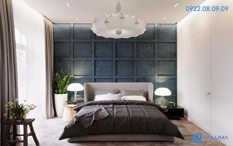 Thiết kế nội thất phòng ngủ cho căn hộ chung cư